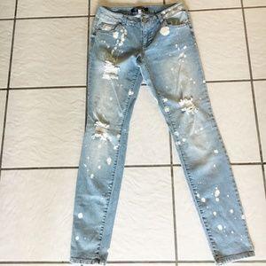 Boom Boom Jeans Acid Washed Denim/Size 7